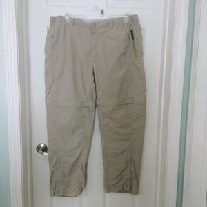 The North Face Mens Size:40 Convertible Pants Zip